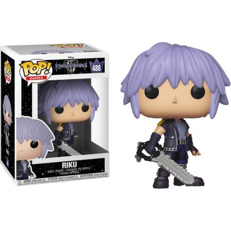 FUNKO POP! KINGDOM HEARTS III - RIKU BOBBLE HEAD KNOCKER FIGURE