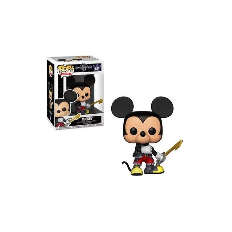 FUNKO FUNKO POP! KINGDOM HEARTS III - MICKEY BOBBLE HEAD KNOCKER FIGURE