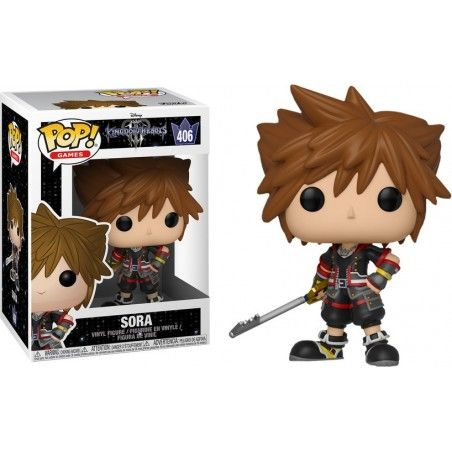 FUNKO POP! KINGDOM HEARTS III - SORA BOBBLE HEAD KNOCKER FIGURE