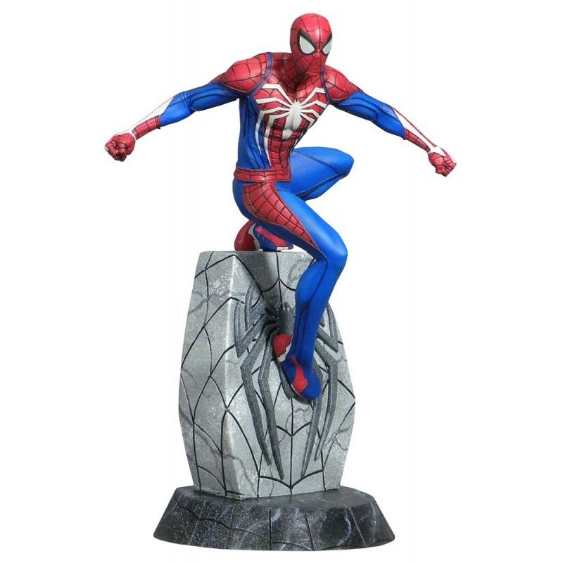 DIAMOND SELECT MARVEL GALLERY SPIDERMAN PS4 FIGURE STATUE