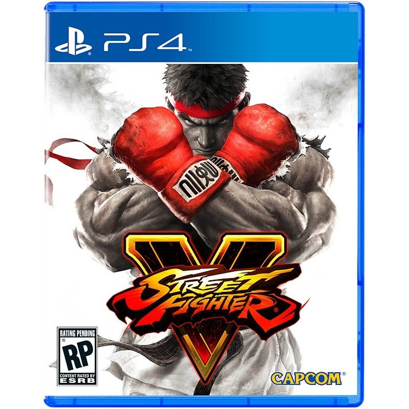 CAPCOM STREET FIGHTER V PS4