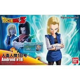 DRAGON BALL Z - FIGURE RISE ANDROID C-18 MODEL KIT ACTION FIGURE BANDAI