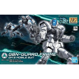 HIGH GRADE HGBD GUNDAM GBN-GUARD FRAME1/144 MODEL KIT