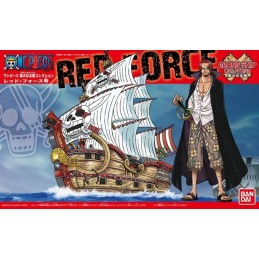 ONE PIECE GRAND SHIP COLLECTION RED FORCE MODEL KIT FIGURE