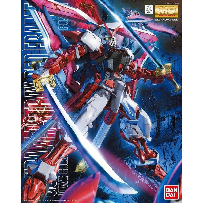BANDAI MASTER GRADE MG GUNDAM ASTRAY RED FRAME REVISE 1/100 MODEL KIT