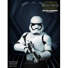 STAR WARS THE FORCE AWAKENS - FIRST ORDER STORMTROOPER DELUXE BUST GENTLE GIANT