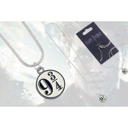 CARAT HARRY POTTER - PLATFORM 9 3/4 NECKLACE CIONDOLO IN METALLO