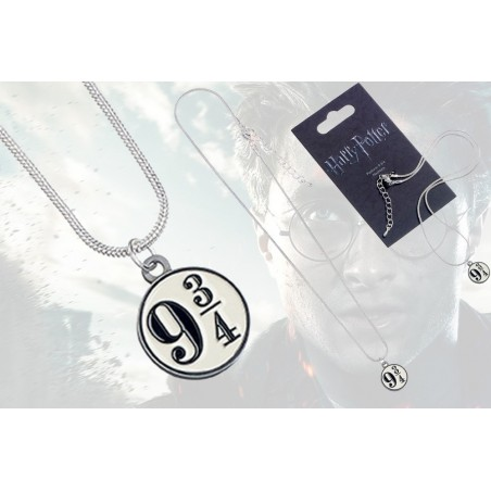 HARRY POTTER - PLATFORM 9 3/4 NECKLACE CIONDOLO IN METALLO