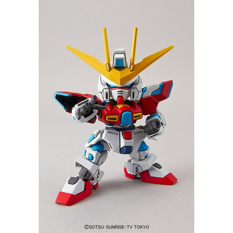 SD GUNDAM EX-STANDARD TRY BURNING GUNDAM TBG-011B MODEL KIT ACTION FIGURE