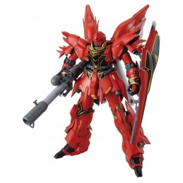 MASTER GRADE MG GUNDAM MSN-06S SINANJU OVA VER 1/100 MODEL KIT