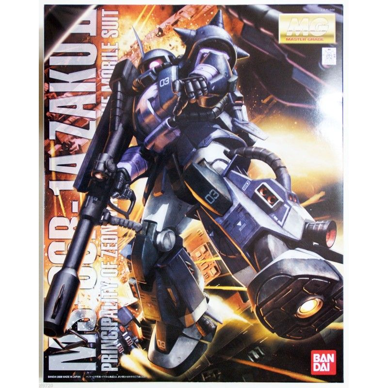 BANDAI MASTER GRADE MG MS-06R-1A ZAKU II TRI-STAR 1/100 MODEL KIT