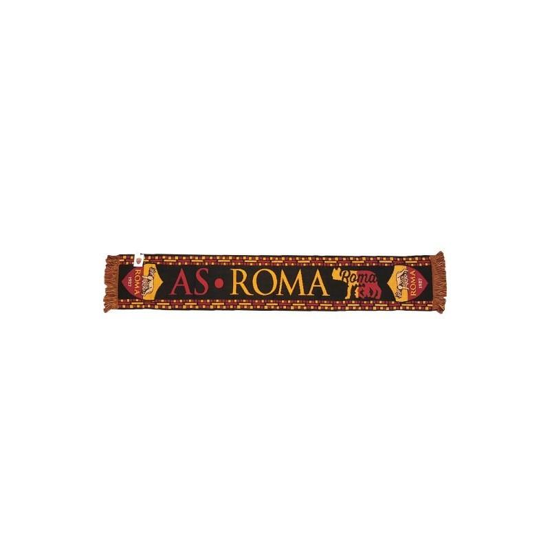 SCIARPA SCARF AS ROMA UFFICIALE LUPA GIALLOROSSA