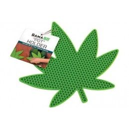 MARIJUANA POT HOLDER SILICONE PRESINA DA CUCINA