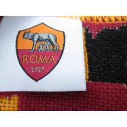 SCIARPA SCARF AS ROMA UFFICIALE NERA FANTASIA