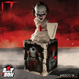 IT PENNYWISE BURST A BOX FIGURE 30 CM