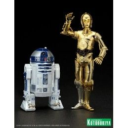 KOTOBUKIYA STAR WARS C-3PO E R2-D2 ARTFX STATUE
