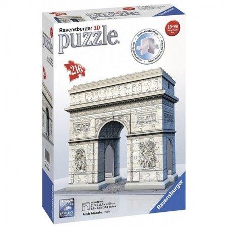 RAVENSBURGER 3D PUZZLE ARCO DI TRIONFO 216 PEZZI