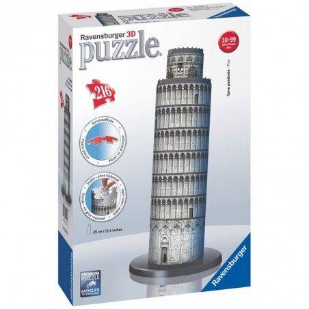 RAVENSBURGER 3D PUZZLE TORRE DI PISA 216 PEZZI