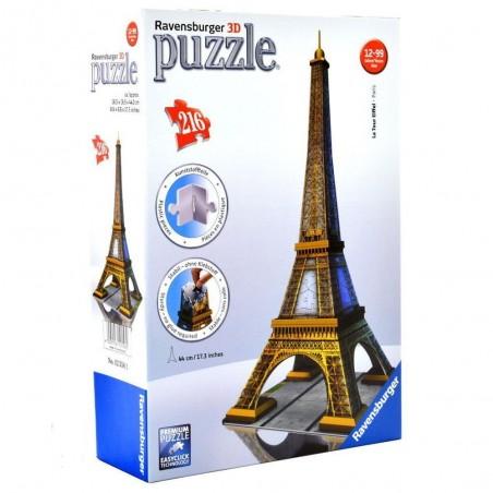 RAVENSBURGER 3D PUZZLE TOUR EIFFEL 216 PEZZI
