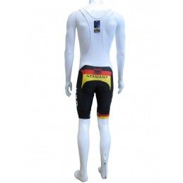 ALKA PANTALONCINI SALOPETTE DIVISA CICLISMO GERMANIA NAZIONALE GERMANY TEAM CYCLING