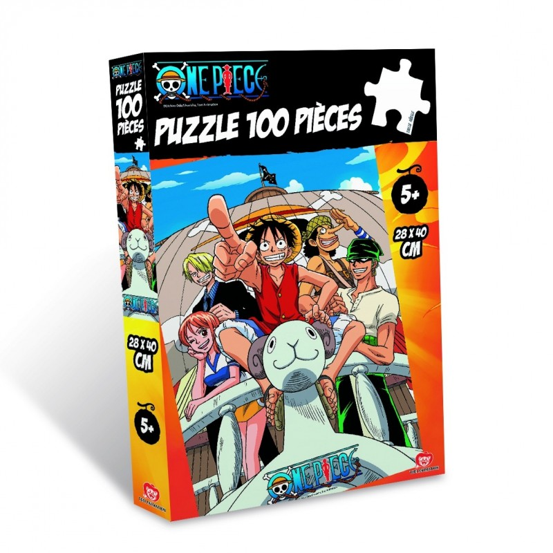 ONE PIECE PUZZLE GOING MERRY 100 PIECES PEZZI