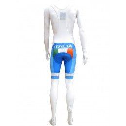 PANTALONCINI SALOPETTE DIVISA CICLISMO ITALIA NAZIONALE ITALY TEAM CYCLING