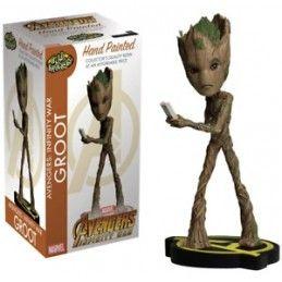 NECA HEAD KNOCKERS Figurine-Avengers Infinity War-Groot