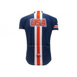 MAGLIA DIVISA CICLISMO STATI UNITI NAZIONALE U.S.A. TEAM CYCLING