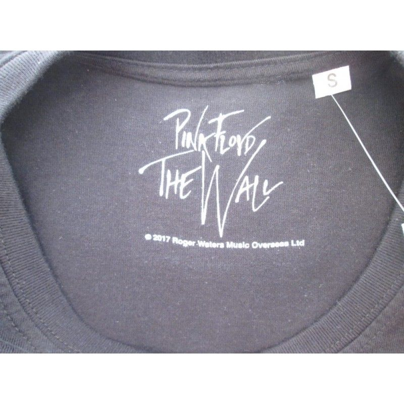 MAGLIA T SHIRT PINK FLOYD THE WALL LOGO NERA
