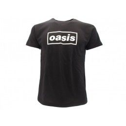 MAGLIA T SHIRT OASIS DEFINITELY MAYBE NERA