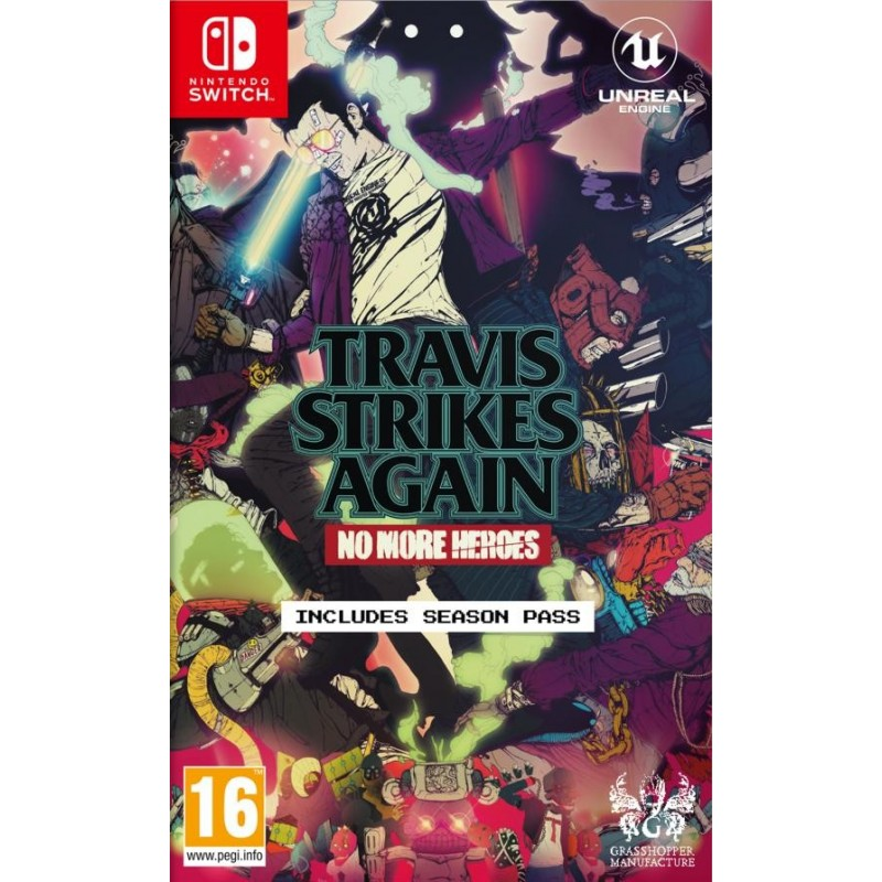 NO MORE HEROES TRAVIS STRIKES AGAIN SWITCH NUOVO