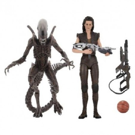 ALIENS SERIES 14 RIPLEY RESURRECTION WARRIOR SET 2 ACTION FIGURE