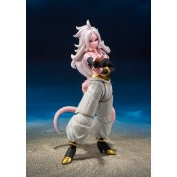 DRAGON BALL FIGHTER Z ANDROID 21 S.H. FIGUARTS ACTION FIGURE BANDAI