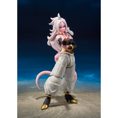 DRAGON BALL FIGHTER Z ANDROID 21 S.H. FIGUARTS ACTION FIGURE