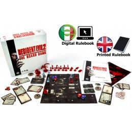 RESIDENT EVIL 2 - THE BOARD GAME GIOCO DA TAVOLO INGLESE STEAMFORGED GAMES