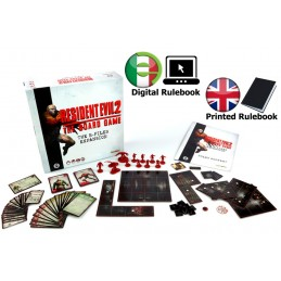 RESIDENT EVIL 2 - THE BOARD RESIDENT EVIL 2 - THE BOARD GAME B-FILES EXPANSION INGLESEGIOCO DA TAVOLO INGLESE