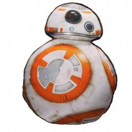 STAR WARS BB-8 SHAPED CUSHION PILLOW CUSCINO SD TOYS