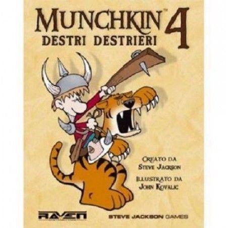 MUNCHKIN 4 DESTRI E DESTRIERI ESPANSIONE ITALIANO RAVEN