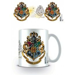 HARRY POTTER HOGWARTS CREST MUG TAZZA IN CERAMICA