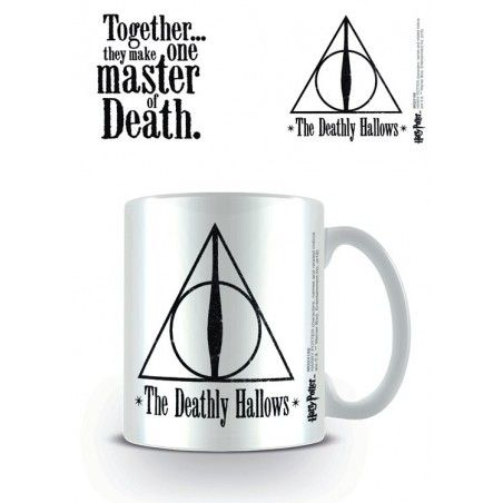 HARRY POTTER THE DEATHLY HALLOWS MUG TAZZA IN CERAMICA