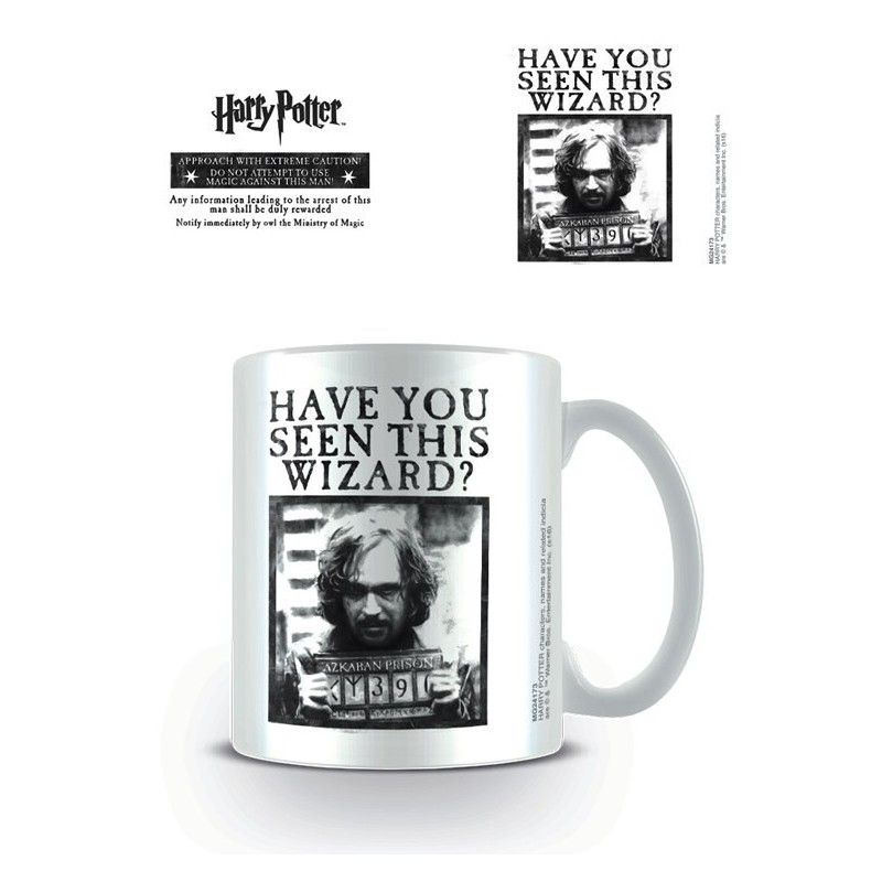 HARRY POTTER HAVE YOU SEEN THIS WIZARD MUG TAZZA IN CERAMICA