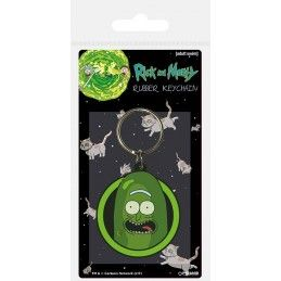 RICK AND MORTY PICKLE RICK RUBBER KEYCHAIN PORTACHIAVI IN GOMMA