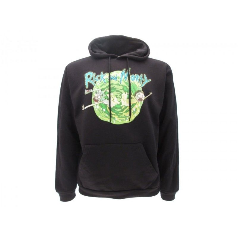 FELPA HOODIE RICK AND MORTY PORTALE