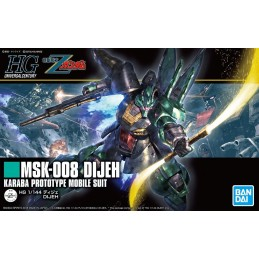 HIGH GRADE HGUC GUNDAM MSK-08 DIJEH KARABA PROTOTYPE 1/144 MODEL KIT BANDAI