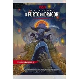 ASTERION DUNGEONS AND DRAGONS 5 EDIZIONE WATERDEEP IL FURTO DEI DRAGONI