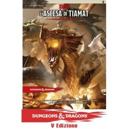 ASTERION DUNGEONS AND DRAGONS 5 EDIZIONE L'ASCESA DI TIAMAT