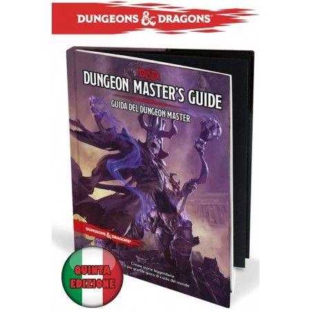 DUNGEONS AND DRAGONS 5 EDIZIONE MANUALE DEL MASTER ITALIANO