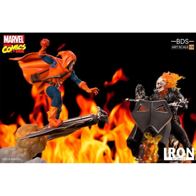 MARVEL COMICS HOBGOBLIN BDS ART SCALE 1/10 STATUE 30 CM FIGURE IRON STUDIOS