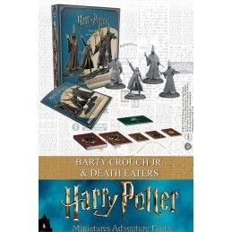 KNIGHT MODELS HARRY POTTER MINIATURE ADVENTURE GAME - BARTY CROUCH JR AND DEATH EATERS