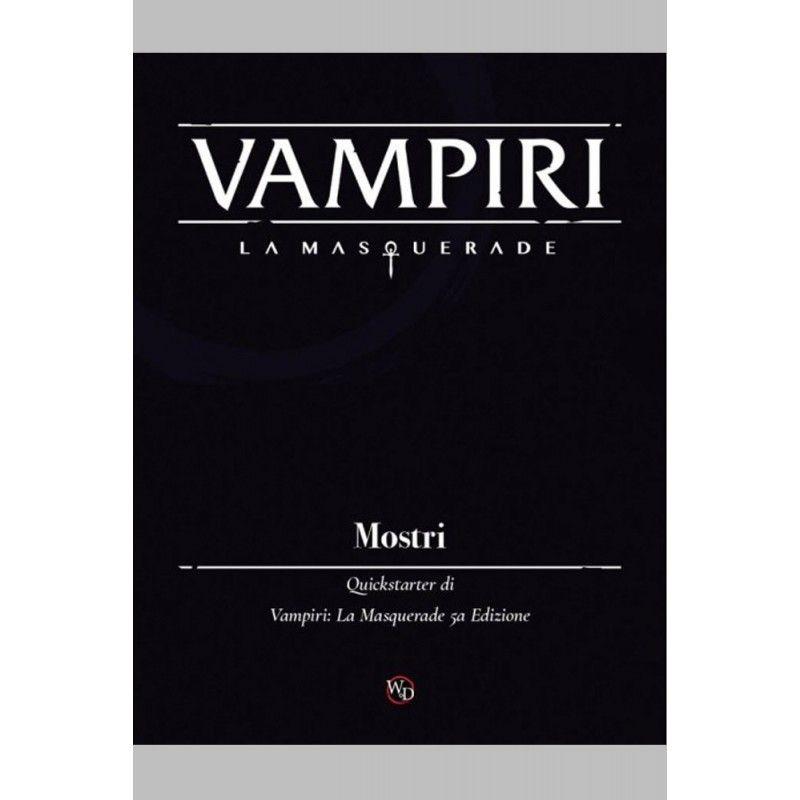 VAMPIRI LA MASQUERADE - MANUALE MOSTRI GIOCO DI RUOLO DA TAVOLO